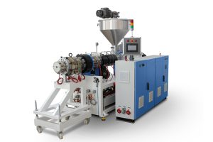 PVC Twin Screw Extruder Machine, PVC Pipe Extrusion Line