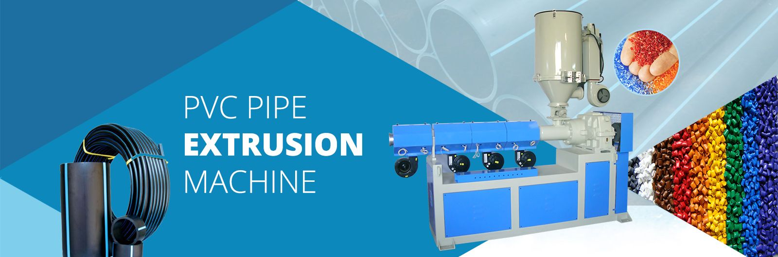 pvc pipe extrusion machines